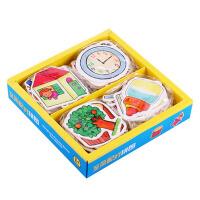 儿童早教启蒙婴幼儿拼图0-3益智玩具 1-3岁1-2岁宝宝玩具配对拼图