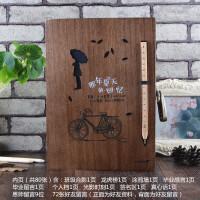 复古木盒密码锁小学初中同学录创意唯美毕业纪念册学生留言本通讯录