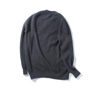 【限时抢购到手价:120元】AMAPO潮牌大码男装 新款肥佬加肥加大棒球领针织衫拉链开衫毛衣男