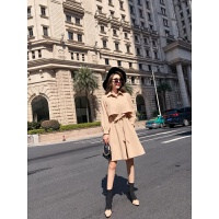 秋冬季裙子2018新款时尚女神气质韩版修身显瘦收腰中长款连衣裙潮