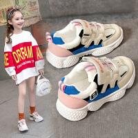 女童运动鞋春秋款儿童中大童鞋子小女孩老爹春季童鞋