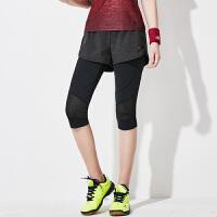 羽毛球服女款运动裙裤秋冬假两件速干透气网球裙修身显瘦 女款裙裤 S