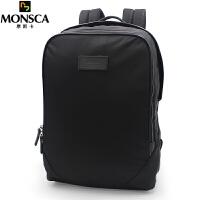 摩斯卡MONSCA 双肩包电脑包14英寸男包笔记本书包大容量尼龙布防水旅行背包休闲包