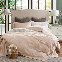 60支双面天丝床上四件套夏凉床单被罩4件套床笠款蕾丝