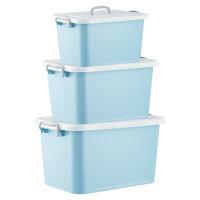 化妆品收纳盒收纳箱塑料特大号透明小号储物箱整理箱宿舍衣服