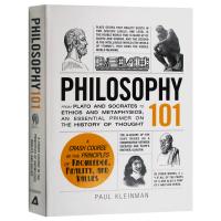 Philosophy 101 101系列 哲学 英文原版 英文版原版书籍 精装进口英语书 Paul Kleinman