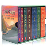【美版】哈利波特全集套装1-7册英文原版Harry Potter Paperback Box Set哈利波特与魔法石J