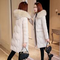 【限时抢购】2019新款冬季棉服女装时尚爆款韩版显瘦加厚中长款加厚外套棉袄
