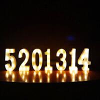 led英文字母灯求婚表白布置装饰灯发光数字生日道具创意浪漫