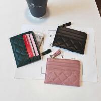 2020新款真皮时尚小巧超薄卡包简约韩国可爱精致高档零钱包一体潮