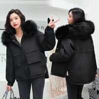 【限时抢购】棉袄女2018新款韩版宽松保暖棉服学生bf风棉衣短款面包服加厚外套