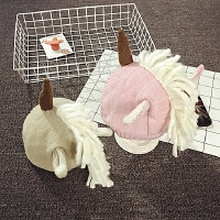 儿童帽子冬天护耳帽摄影宝宝帽子1岁毛线帽针织帽男女韩版潮造型