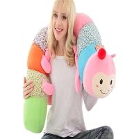毛毛虫毛绒玩具大号可爱女孩睡觉抱枕公仔布娃娃女生生日礼物