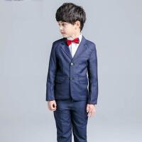 男童西装套装礼服 儿童小西装韩版夏秋装演出服