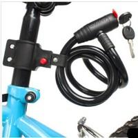 钢丝锁 山地自行车锁 骑行配件 装备