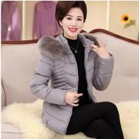 中老年女装冬装中长款保暖棉袄外套40-50岁羽绒妈妈冬季棉衣