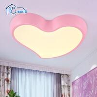 祺家 led儿童房吸顶灯可爱小孩房间灯创意卡通卧室灯具苹果 IX10