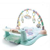 婴幼儿玩具 卡通脚踏钢琴健身架玩具宝宝儿童早教益智礼盒装生日礼物 米宝兔粉MB28