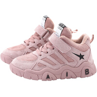 女童鞋�\�有�秋冬款新款棉鞋�和�加�q鞋子男童冬季老爹鞋
