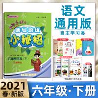 新版2020春黄冈小状元读写培优小秘招语文六年级语文下册内附赠读写存折