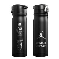 运动配饰科比罗斯欧文詹姆斯生日礼物水杯子运动保温杯篮球球星球迷用品 500ml(单只装)