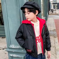 儿童冬季短款棉衣外套厚款2018新款韩版洋气棉服男孩