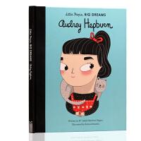 英文原版绘本 Little People Big Dreams 小人物大梦想 Audrey Hepburn奥黛丽赫本