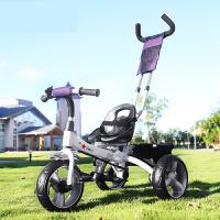 儿童三轮车脚踏车2-3-5岁宝宝手推小孩童车宝宝自行车新品 g6w
