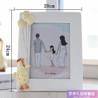 5 6寸7寸洗照片加树脂宝宝相框欧式创意卡通可爱儿童摆台照片定制创意送女友同学礼物 树脂相框 (做旧款