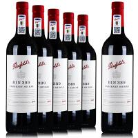 奔富BIN389红酒 澳洲 赤霞珠设拉子干红葡萄酒木塞  750ml*6