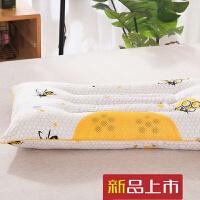 黄金蜂胶能量磁疗枕枕头荞麦酒店枕芯护颈椎单学生枕定制