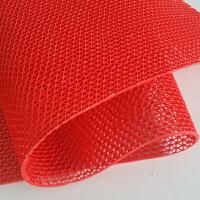 防滑垫PVC塑料红地毯门垫浴室卫生间厕所厨房防滑垫镂空防水地垫