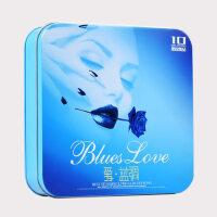 欧美蓝调Blues经典英文情歌汽车载抒情歌曲黑胶CD光盘无损音质