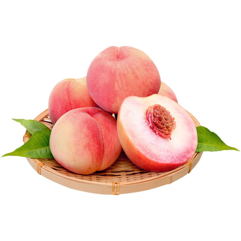 【贵阳馆】贵州特产 镇远红桃苹果桃4两左右6枚装礼盒现摘现发约1200g新鲜脆桃桃子孕妇儿童新鲜水果香甜可口 精心种植 新鲜上市