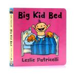 小毛孩小脏孩Big Kid Bed 大孩子的床 英文原版绘本 Leslie Patricelli 幼儿启蒙认知纸板书