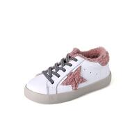 儿童冬季新款加绒男童板鞋二棉宝宝脏脏鞋