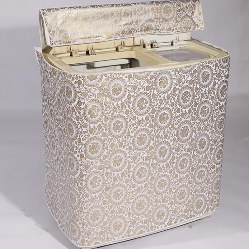 海尔洗衣机罩半自动双缸双桶防水防晒套子小天鹅小鸭双杠罩