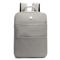 休闲电脑双肩包男女.6寸14韩版学生书包旅行商务双肩背包