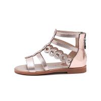 童鞋夏季新款女童凉鞋小学生罗马凉鞋公主百搭儿童凉鞋
