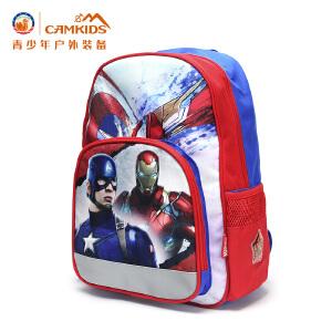 CAMKIDS垦牧儿童1-6岁双肩包男童漫威卡通背包小学生书包