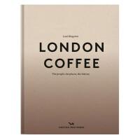 London Coffee 伦敦咖啡 进口原版图书 英国咖啡店旅行指南攻略
