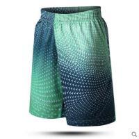 美观时尚宽松大码训练五分裤轻薄透气运动短裤篮球短裤男跑步健身速干裤