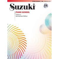 【预订】Suzuki Piano School, Vol 2: Book & CD