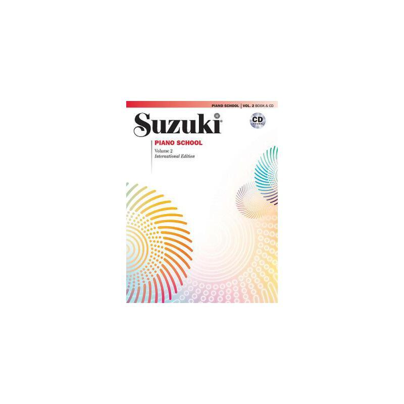 【预订】Suzuki Piano School, Vol 2: Book & CD 预订商品,需要1-3个月发货,非质量问题不接受退换货。