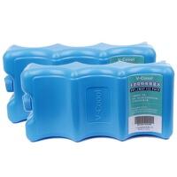 V-Coool妈咪包 干式未注水蓝冰双个装 无限次使用冰包专用背奶包专用蓝冰母乳储存保鲜冰包专用干式冰排波浪冰盒