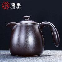 唐丰电陶炉家用电热烧水黑茶煮茶器日式侧把壶泡茶器煮茶壶陶瓷