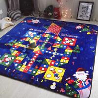 飞行棋地毯 宝宝游戏垫可折叠大号 儿童爬行垫地垫爬爬垫