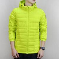 Adidas阿迪达斯 男子 运动羽绒服 冬季连帽保暖运动羽绒外套 BQ8562