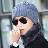 冬季男士帽子套头帽包头帽护耳男围脖帽保暖针织帽脖套毛线帽