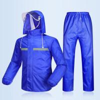 雨衣雨裤套装 分体男女双层加厚全身电动车摩托车雨披